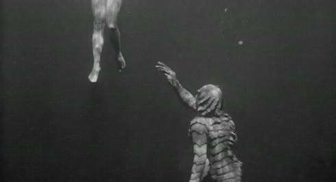 étrange créature lac noir 0